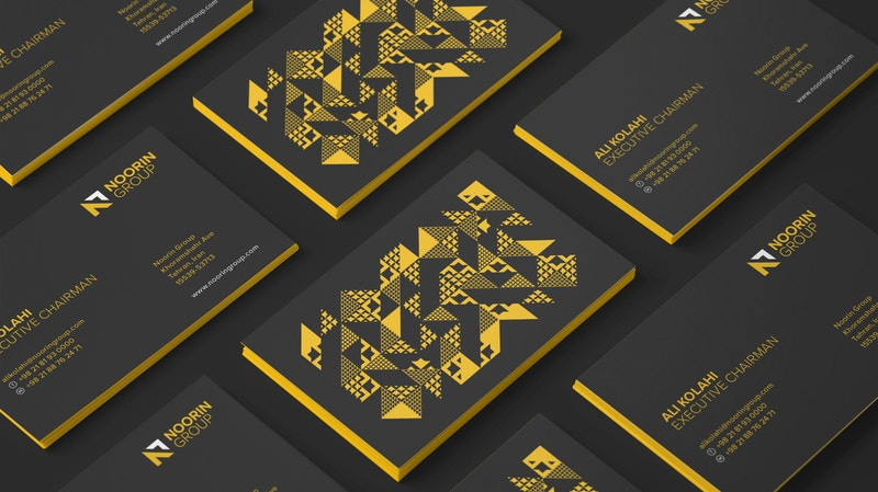 Noorin Business Cards Mockup 05