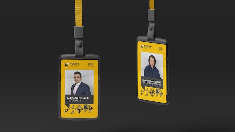Noorin Identity Card Holder Mockup 01