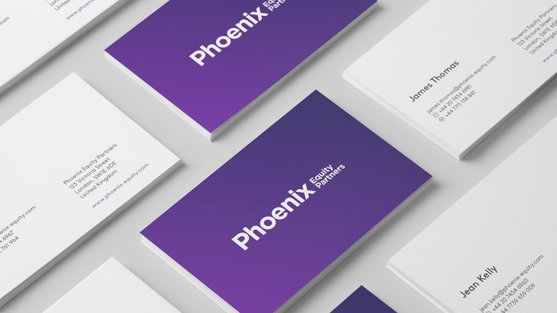 Phoenix Business Cards Mockup 001