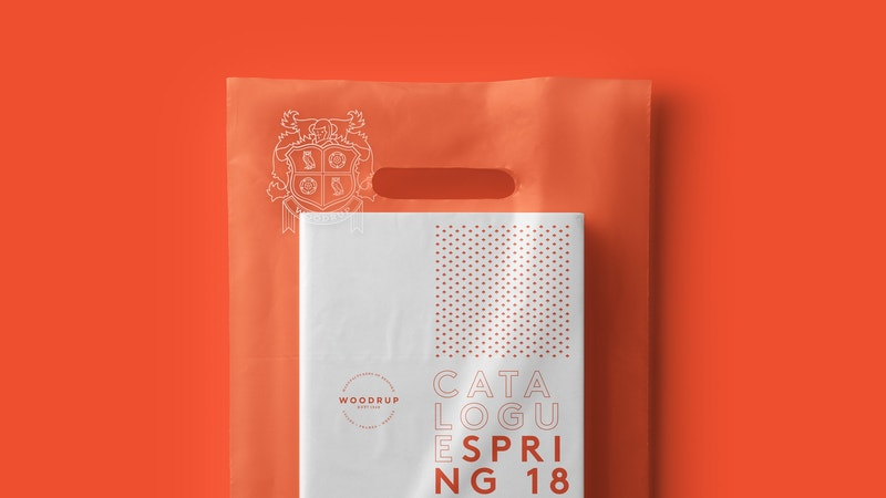 Book Transparent Foil Bag Mockup 04