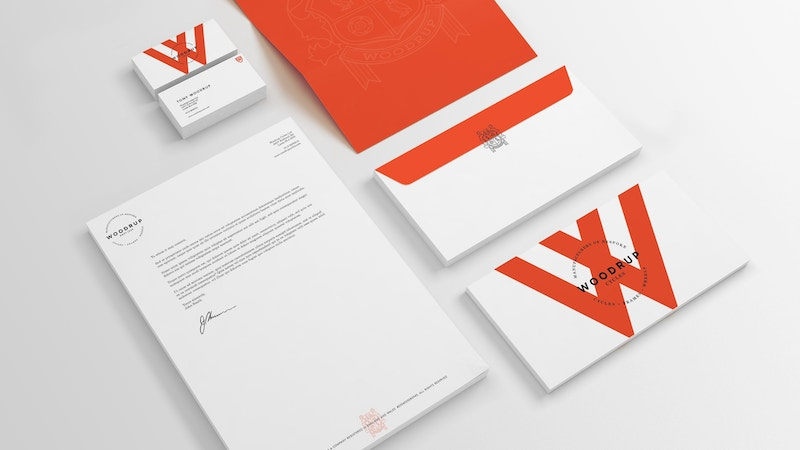 Woodrup Stationery Template 001